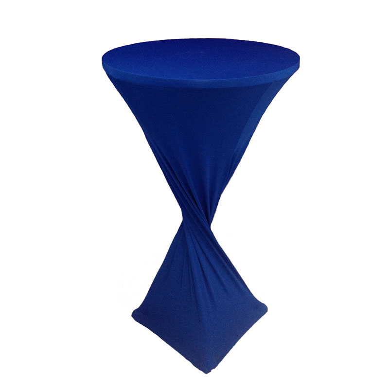Royal BLue Cocktail Table Cover