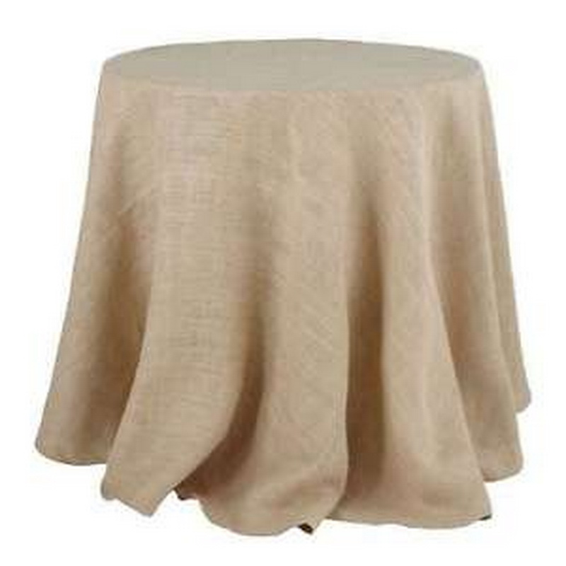 Burlap Round table Cloths