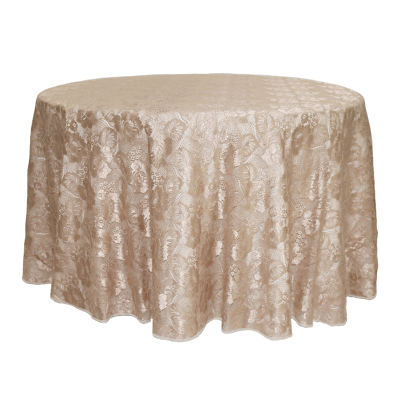 High Quality Lace Jacquard Table Cloth