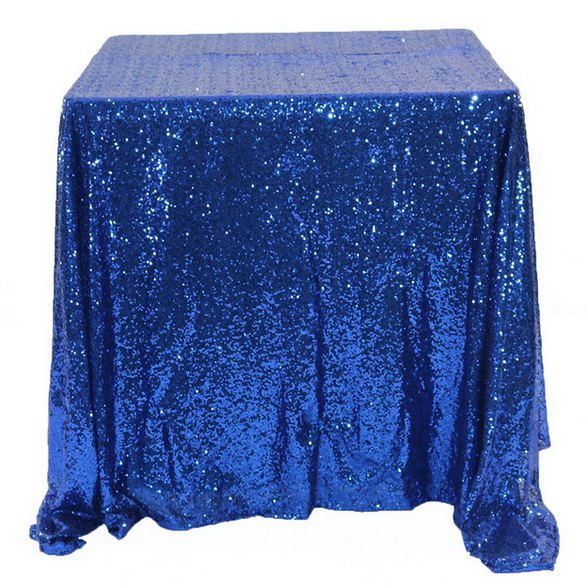 Event Decor Sparkly Sequin Linens custom glitter table cloths round sequin table cloth wedding